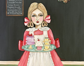 At the Pâtisserie with Marguerite