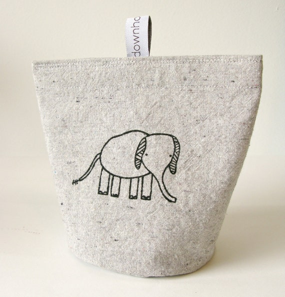 Snack pouch (large), Snack bag, Elephant