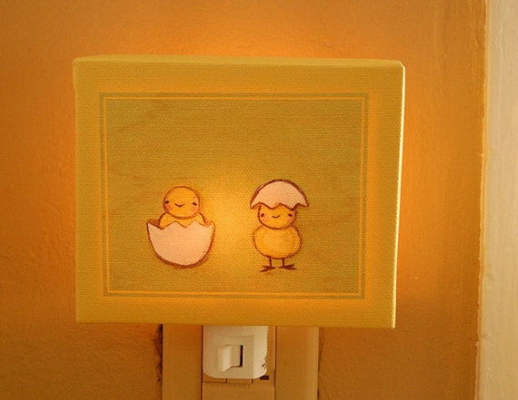 hatched NIGHT LIGHT - In Stock