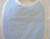 Final Sale - Everyday Bib - Blue Dot