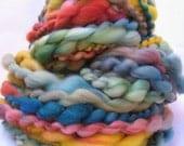 Handspun Wool Yarn - Groovy