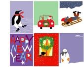 greeting cards holiday mix original illustrations