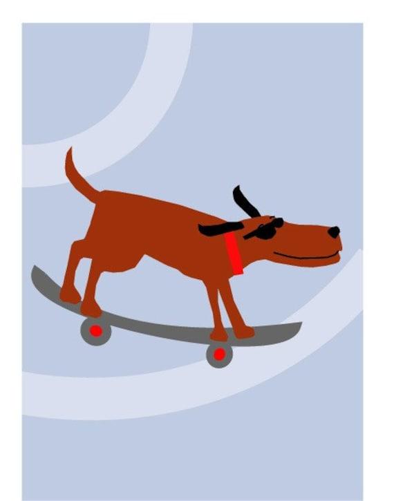 world's most amazing dog 8 x 10 print matted