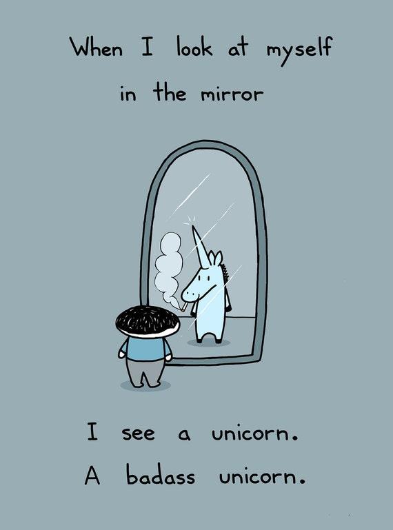 I'm a Unicorn 8.5x11 Art Print