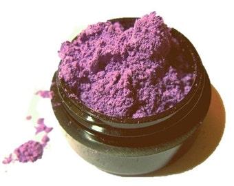 Vegan Eyeliner Eye Shadow Swoon Purple Pink with Silver Sparkle