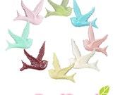 CA-CA-107S1 - Colorful Swallow,14 pcs