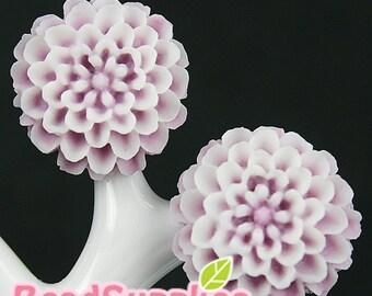 CA-CA-05325 - Pom Pom Big Mum, snowy lilac, 2 pcs