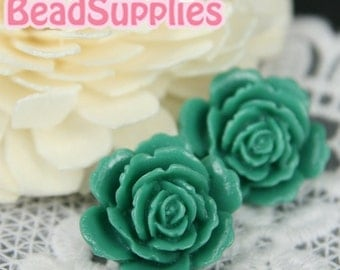 Special Offer - CA-CA-05807 - Layered Peony,Teal,4 pcs