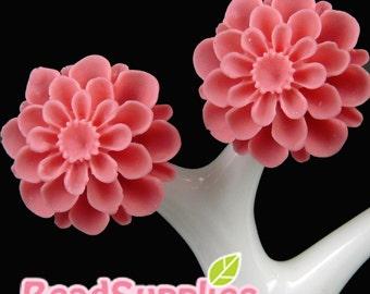 CA-CA-06506- Bloomson Pom Pom Mum , dark pink, 4 pcs