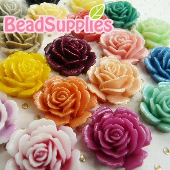 Wholesale - CA-CA-058S1 - Colorful Layered Peony Sampler, 50 pcs