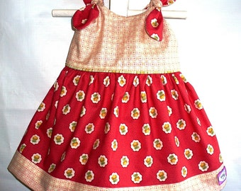 Newborn Infant Baby Dress with Panties 2pc set to Take Me Home ..OOAK.. 0-3 months.. Ready 2 Ship