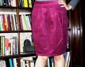 Pamela.  Custom-made pencil skirt .