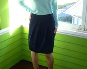 Mona.  Custom-made pencil skirt.