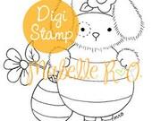 Instant Download Digi Stamp: Coco Bee