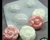 resin MOLD Decoden Kawaii Rose 25mm (1 inch) also for polymer clay, pmc, plaster, soaps, and candles