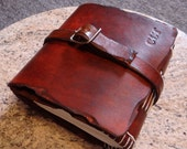 Reserved Listing - Big Thick Brown Journal