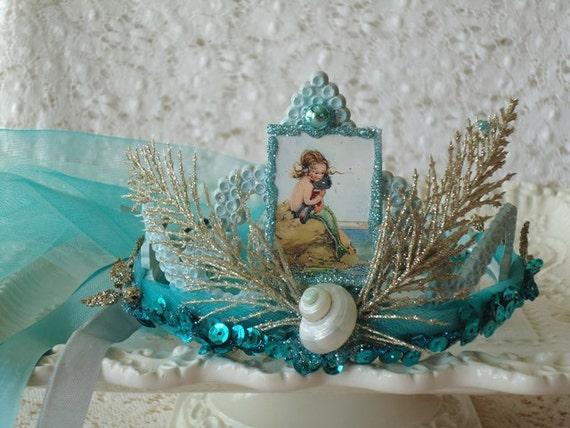 Mermaid Tiara Party Crown