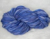 Periwinkle Kettle Dyed 88 yards Thick n Thin  Merino
