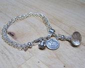 Slide chain  bracelet