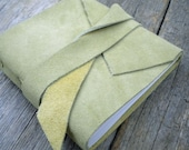 Lime Suede Mini Journal
