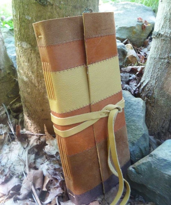 Leather Journal - Patchwork