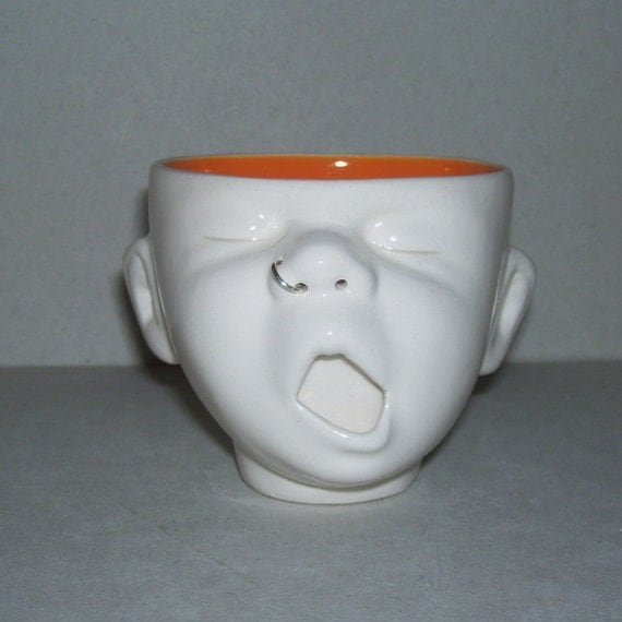 Baby Cup Head w/Nosering