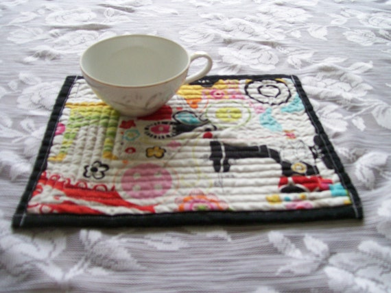 Alexander Henry Quilted Mug Rugs Sewing/Quilting
