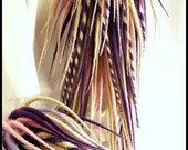 On SALE and FREE Shipping to the U.S. - Spring Colored Dread Falls - Pink, Purple and Blonde