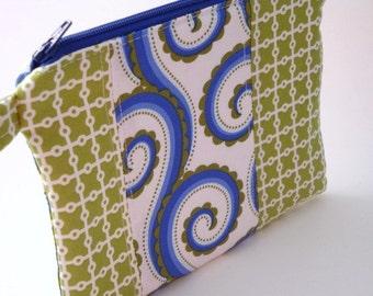Zippered Wristlet-Michael Miller Fabric