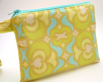 Zippered Wristlet-Amy Butler Fabric
