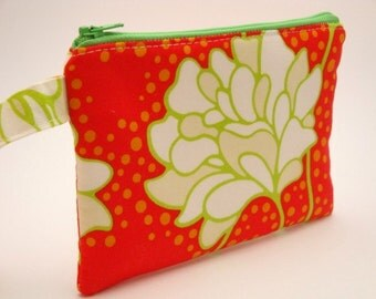 Zippered Wristlet-Heather Bailey Fabric