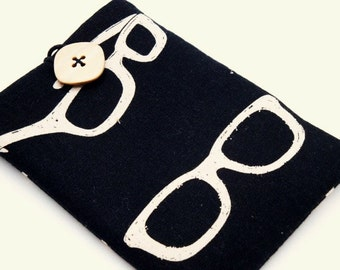 Padded Gadget Case for iPod Touch, iPhone4 or Camera-Echino Ni-Co Glasses
