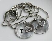 i c a r r y   y o u r   h e a r t   pendant necklace - large