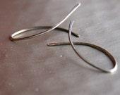 wisp earrings - dark
