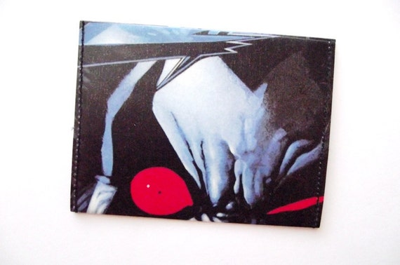 Recycled Comic  wallet / cardholder