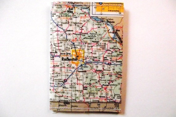 Rochester Map wallet / cardholder