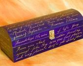 Custom Personalized Wine Box
