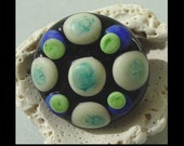 SALE - RDD - Lampwork Glass Button SRA