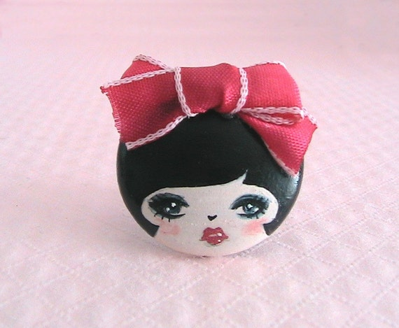 Francesca Doll face Ring