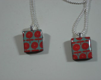 Handmade Scrabble Tile Necklace