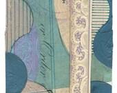 "Mini Original Art Collage - ""Lilac"" ACEO"