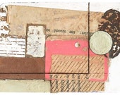 "Mini Original Art Collage - ""Distance"" ACEO"