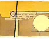 "Mini Original Art Collage - ""Parallax"" ACEO"
