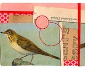 "Mini Original Art Collage - ""Birds of America No. 4"" ACEO"