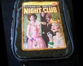 Vinyl Night Club Clutch Bag