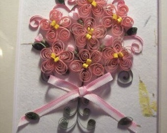 Quilling, Flowers, Quilled Bouquet Picture