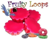 4 Fruity Loops Wax Tarts Wickless Candle Melts Breakfast Cereal Scent