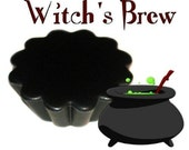 4 Witchs Brew Full Moon Tarts Wickless Candle Melts Spicy Patchouli Scent