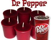 6 Dr Pepper Votive Candles Fruity Cola Scent