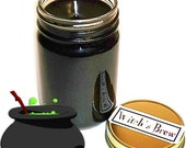 Witchs Brew Full Moon Mason Jar Container Candle 12 Oz